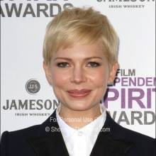 K Michelle Hairstyles 2012 Michelle Williams hairstyle @ 2012 Independent Spirit Awards